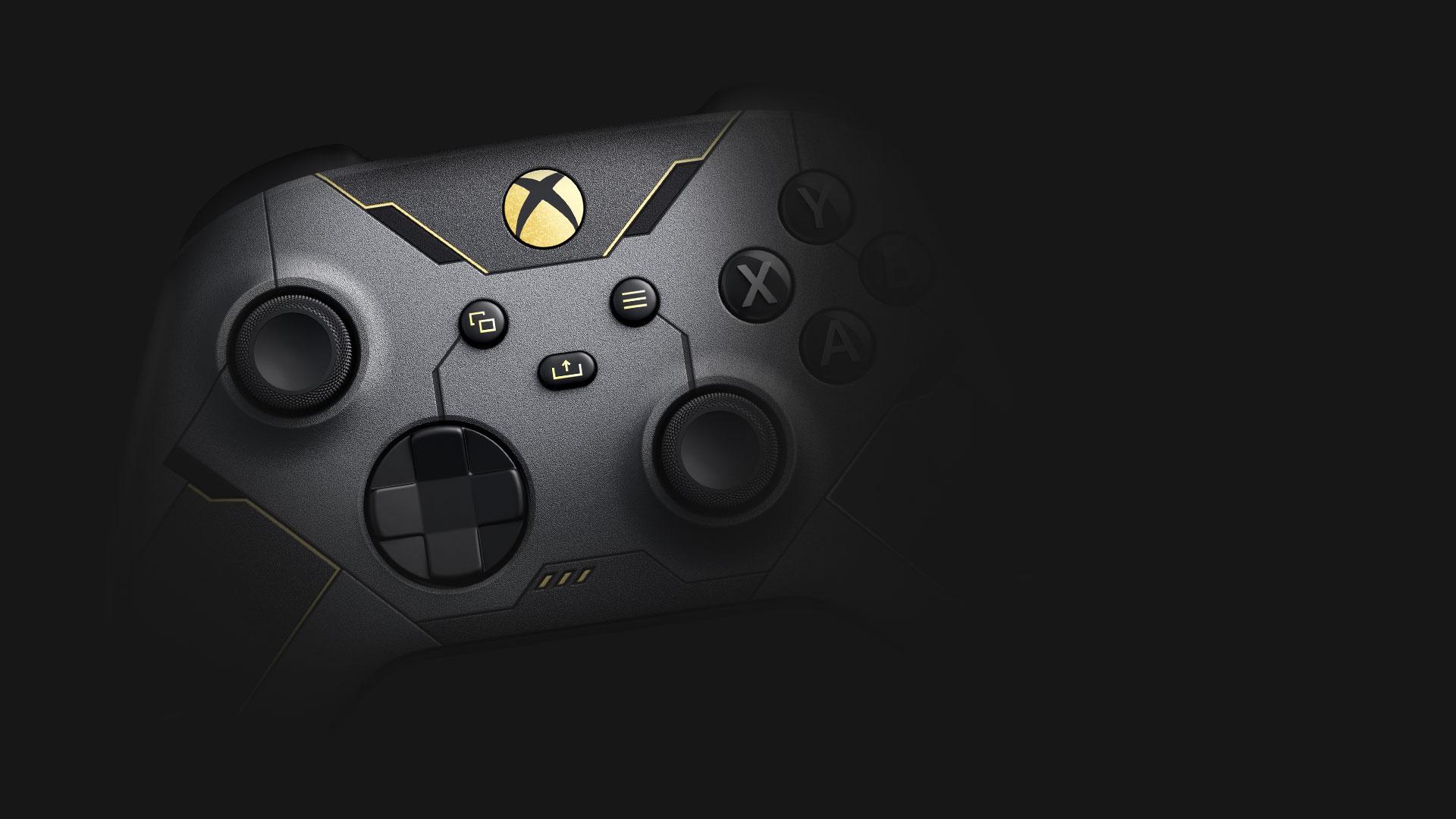 Vista anteriore del Controller Wireless per Xbox Halo Infinite in edizione limitata