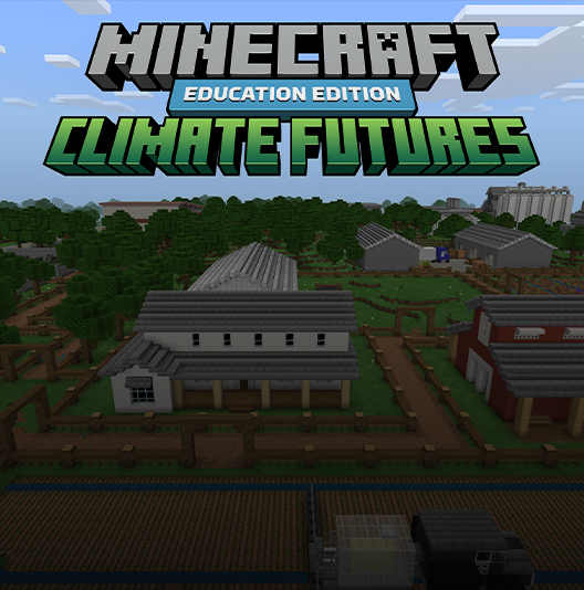 Minecraft Education Edition Climate Features, Minecraft farm scene
