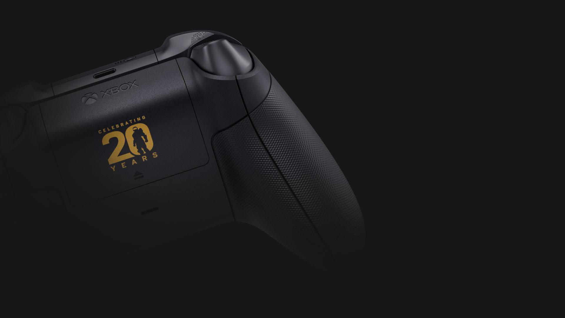 Impugnatura anti-scivolo del controller Wireless per Xbox Halo Infinite in edizione limitata