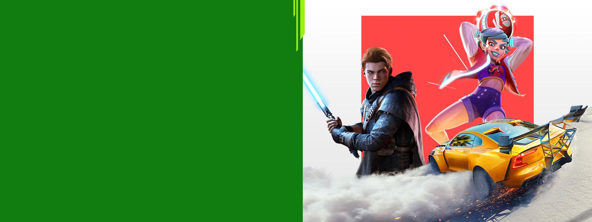 Skupina postáv z rôznych hier EA