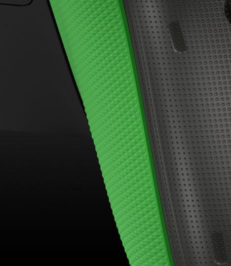 Правый триггер с текстурированной поверхностью на беспроводном геймпаде Xbox из особой серии к 20-летней годовщине